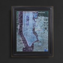 Timothy Oulton Classic Maps Wall Art