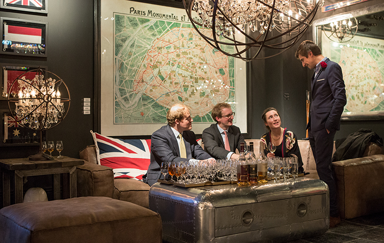 Timothy Oulton Distinguished Gentlemen Event in Heal's London - Whisky
