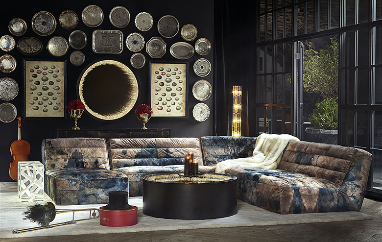 Fabric Sofa - Timothy Oulton Sofa Collection