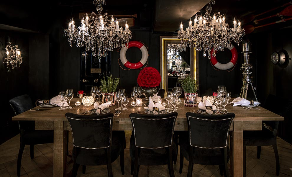 Goughs on Gough Private Dining | Timothy Oulton