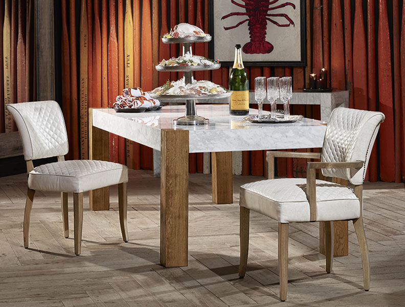Contemporary Furniture - Junction Dining Table | Timothy Oulton marble dining table