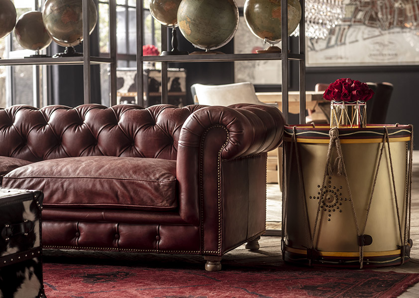 Chesterfield Styled sofa - Westminster feather sofa | Timothy Oulton Chesterfield