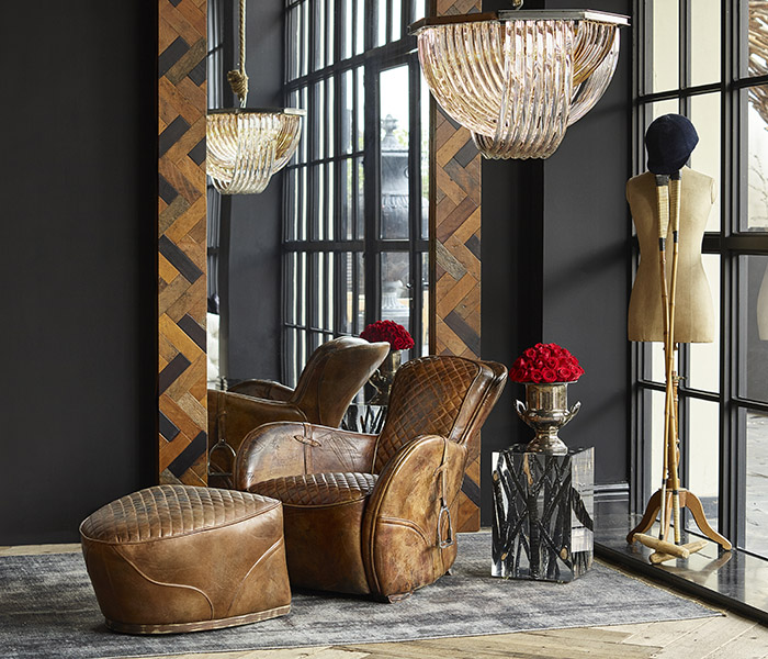 Saddle Chair - Lazy Chair | Timothy Oulton