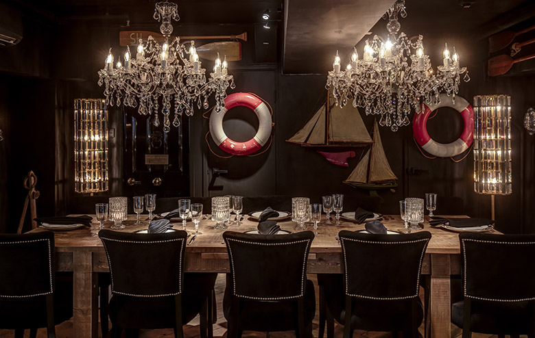 Gough Street Gallery - The Secret Restaurant | Timothy Oulton