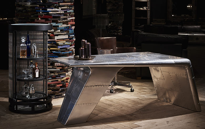 Aviation Inspired Living Room Furniture | Timothy Oulton Collections